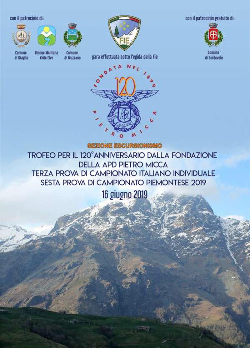 Depliant Trofeo Pietro Micca 2019